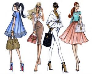 El paso a paso de los figurines de moda abm for Ideas para disenar ropa