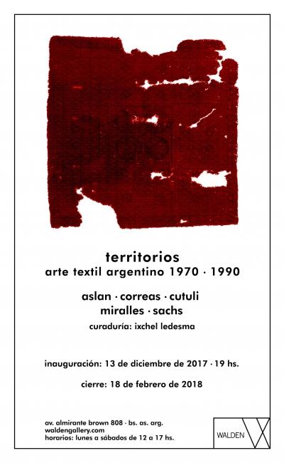 """No te pierdas la exposición """"Territorios: Arte Textil Argentino"""""""