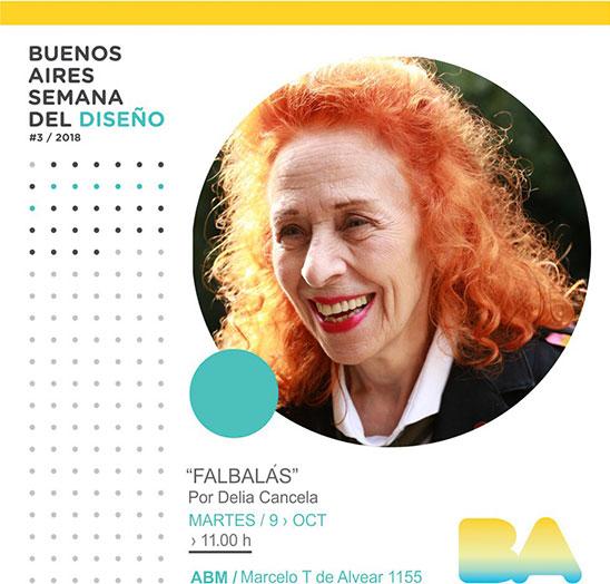 Semana Del Diseño - Delia Cancela